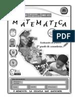 2° Grado - Matemática