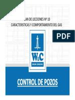 Plan de Leccion 10 Caracteristicas y Comportamiento Del Gas