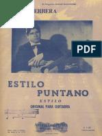 Herrera Estilo Punteano