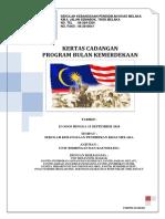 Kertas Kerja Ambang Kemerdekaan 2018
