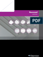 Clearvision Recessed Luminaire Range Brochure