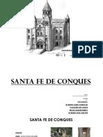 Santa Fe de Conques análisis