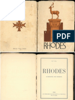Rhodes Tourist Guide 1928