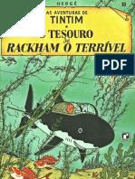 Tintim - O Tesouro de Rackham o Terrivel