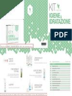 Depliant Igiene e Idratazione - prodotti per la cura e igiene personale della Forever Living Products (italiano)