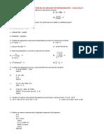 Examen Fortran