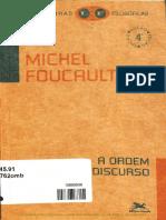 FOUCAULT, Michel.   A ordem do discurso  .pdf