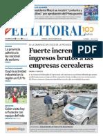 El Litoral Mañana  | 26/10/2018