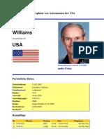 Biographien Von Astronauten Der USA Donald Williams