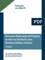 Publicações Temáticas Guia Para Elaboração de Projetos de Aterros Sanitários Para Resíduos Sólidos Urbanos Volume II