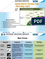 Oct Nor Easter Brief