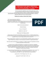 Geohidrología composicion de aguas subterraneas
