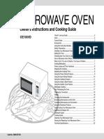 Samsung microwave manual