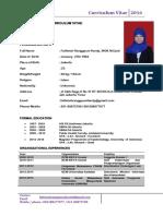 Cv Fathinah Ranggauni Hardy