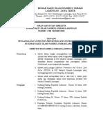 SK Pengangkatan Petugas IPCLN