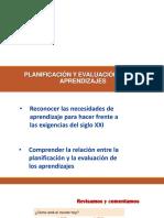 Taller de Planificación y Evaluación
