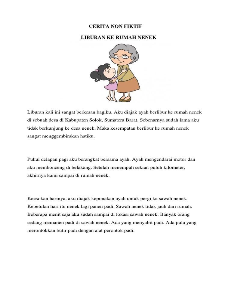 Cerita Liburan Ke Rumah Nenek Dalam Bahasa Jawa Cara Golden