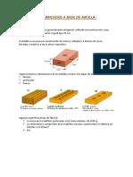 Productos Fabricados a Base de Arcilla
