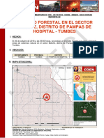 TUMBES - Tumbes - Pampas de Hospital (Boliche) Incendio Forestal (Reporte Complementario 02)