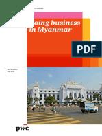 Myanmar Business Guide 2016