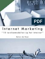 Internet Marketing 10 Verdienmodellen Op Het Internet Eelco de Boer