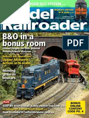 Model Railroader 2018-09   Train   Intermodal Freight Transport