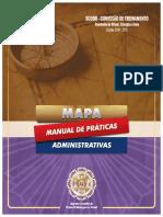 Guias_MAPA 2015_Manuais de Práticas Administrativas