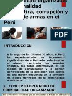 Crimilidad Informatica,Traficode Armas,Corrupcion