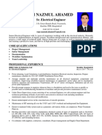 CV of Kh Nazmul Ahamed