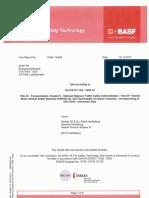 Flammability of Interior Materials FMVSS 302