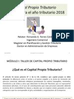 Presentación Capital Propio Tributario y RLI - Parte 1