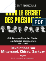 Vincent Nouzille - Dans Le Secret Des Presidents