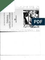Didactica,Curriculo y Evaluacion