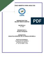 Tarea III de Didactica de Lengua Española (-)