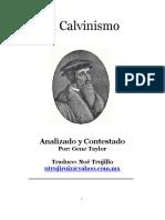 EL Calvinismo Por Gene Taylor