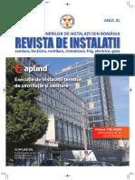 Revista de Instalatii Nr 4 Din 2018
