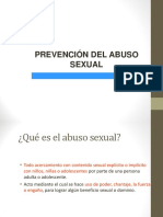 Prevención Abuso Sexual