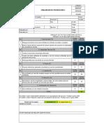 Evaluacion proveedores