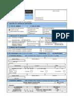 Formulario Unico de Edificacion (FUE)