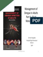 Management of Dengue in Adults Part II Fluid Management