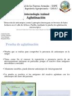 Aglutinacion Bio Animal