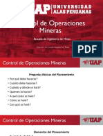 Control Op. Mineras