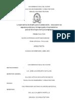 Lineamientos de Diseño Para La Elaboración%2C Renovación de Espacios Públicos y Anteproyecto Arquitectónico Para El Municipio de Ayutuxtepeque