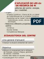 Projecte recerca  IES Can Jofresa Terrassa Projecte Interdisc