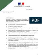Arreté n 2018-115 Circulation Stationnement Et Moullage à l'Occasion Départ Route Du Rhum