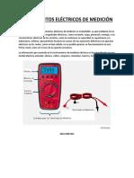 instrumentos electricos de medicion