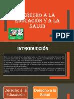 Derecho a La Educaión y a La Salud ( Constitución)