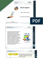 Unidad 2 Plan de Negocios Presentación