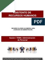Asistente de Recursos Humanos - Sesión i Adm de Personal (2)