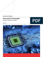 Dow Interconnect Technologies Product Selection Guide